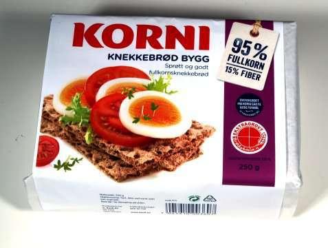 Bilde av Kavli Korni Knekkebrød bygg.