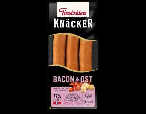 Bilde av Finsbråten bacon knacker.