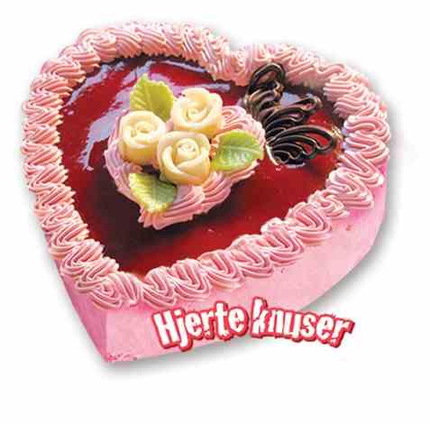 Bilde av Isbilen iskake hjerteknuser jordbær.
