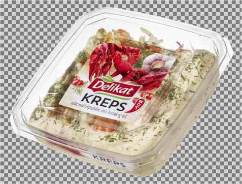 Bilde av Delikat Krepsehaler med chili, hvitløk og dill.