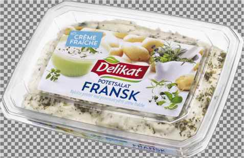 Bilde av Delikat potetsalat creme fraiche fransk.