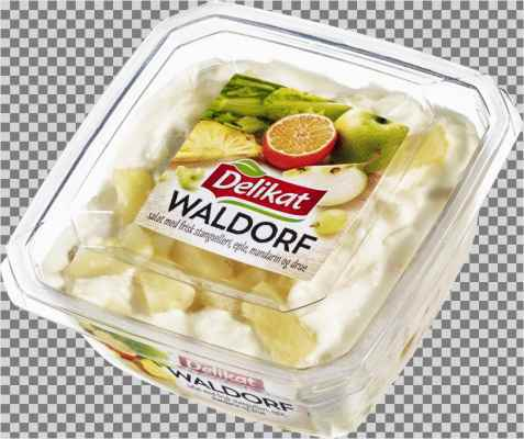 Bilde av Delikat waldorfsalat.