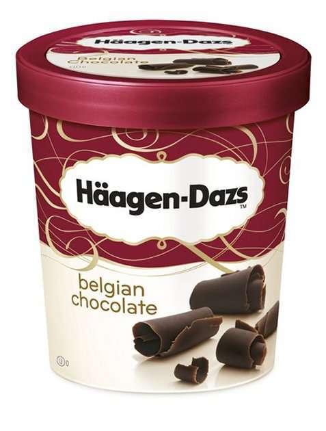 Bilde av Häagen-Dazs Belgian Chocolate 500ml.