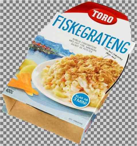 Bilde av Toro fiskegrateng ferdigrett.
