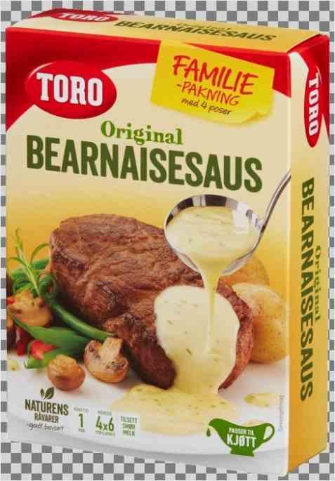 Bilde av Toro Bernaisesaus økonomipakke tilberedt.
