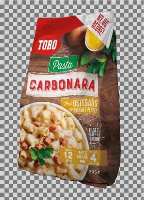Bilde av Toro pasta carbonara familiepakning.