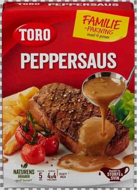 Bilde av Toro peppersaus økonomi.