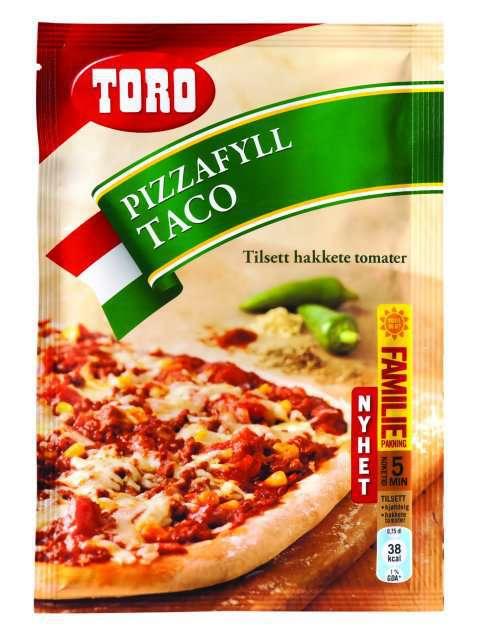 Bilde av Toro pizzafyll taco.