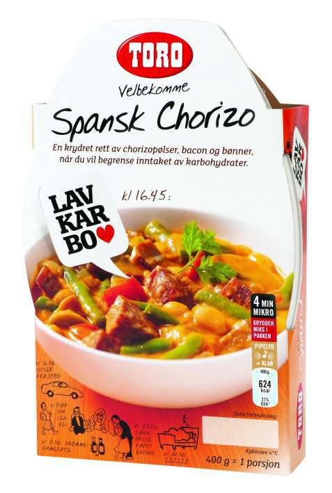 Bilde av Toro velbekomme spansk chorizo.