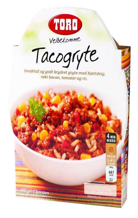 Bilde av Toro velbekomme tacogryte.
