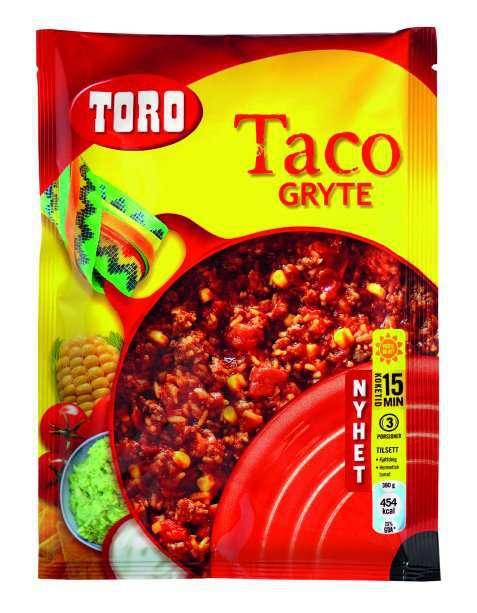 Bilde av Toro tacogryte.
