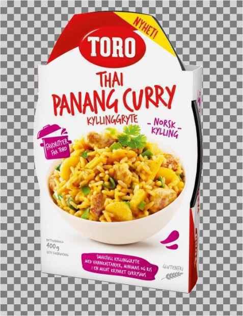 Bilde av Toro thai panang red curry ferdig.
