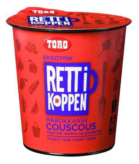 Bilde av Toro Rett i Koppen marokkansk couscous.
