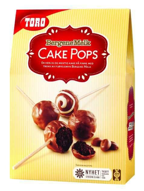 Bilde av Toro cake pops med bergene melk.
