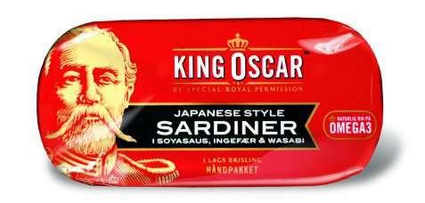 Bilde av King Oscar brislingsardiner japanese style.