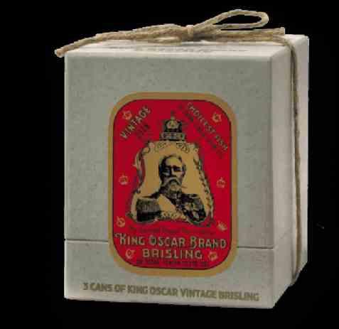 Bilde av King Oscar årgangssardiner i extra virgin olivenolje.