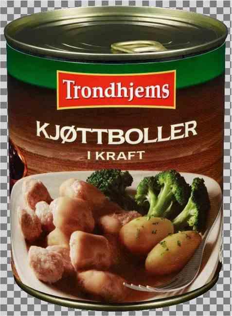 Bilde av Trondhjems kjøttboller i kraft.