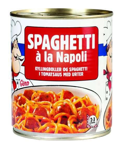 Bilde av Spaghetti à la Napoli.