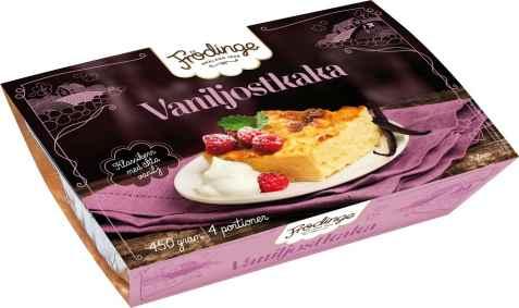 Bilde av Frødinge vaniljostkake.