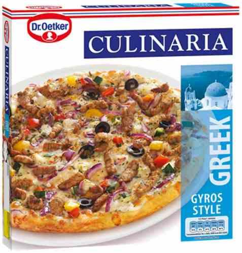 Bilde av DrOetker Culinaria Greek Gyros Style.