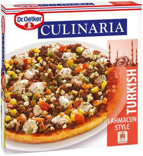 Bilde av DrOetker Culinaria Turkish Lahmacun Style.