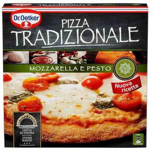 Bilde av DrOetker Tradizionale Mozzarella e pesto.