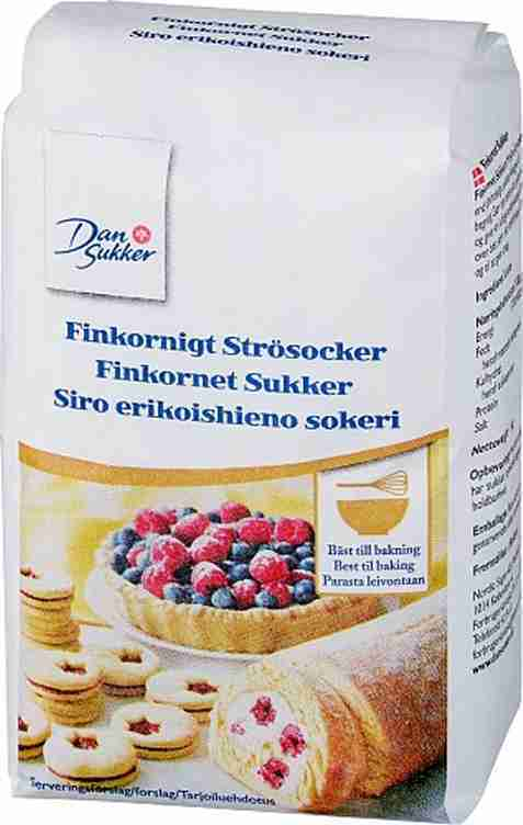Bilde av Dansukker Finkornet Sukker.