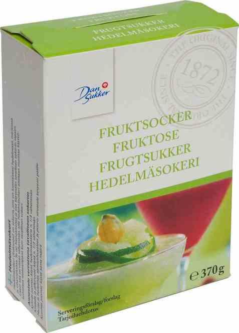 Bilde av Dansukker fruktsukker.