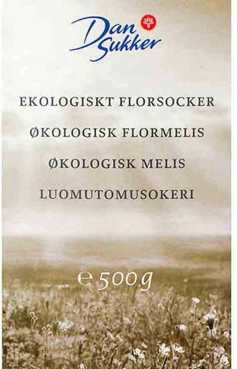 Bilde av Dansukker økologisk melis.