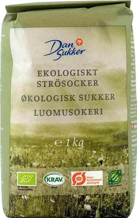 Bilde av Dansukker økologisk sukker.