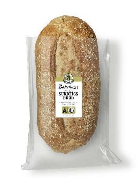 Bilde av Bakehuset vårt beste surdeigsbrød.