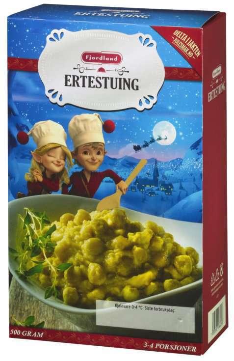 Bilde av Fjordland ertestuing familiepakning.