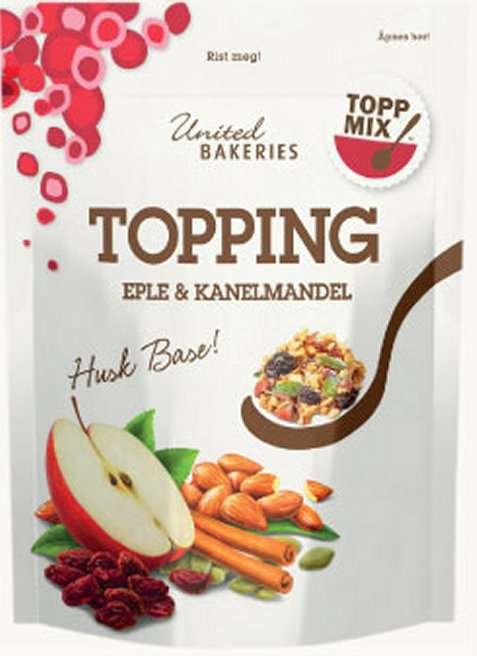 Bilde av Toppmix topping eple og kanelmandel.