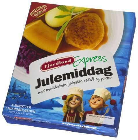 Bilde av Fjordland Julemiddag med rødkål.