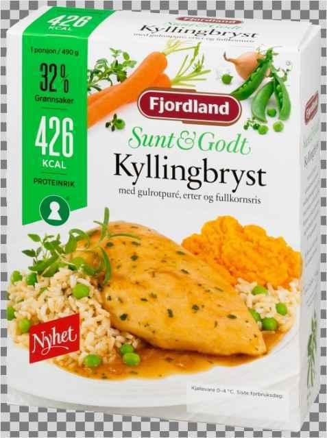 Bilde av Fjordland Kyllingbryst i sjysaus.