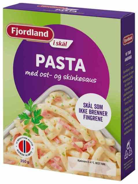 Bilde av Fjordland Pasta med ost og skinke.