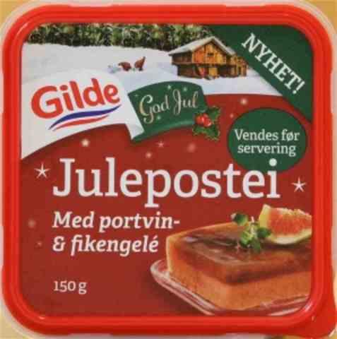Bilde av Gilde Julepostei med Portvin & Fikengèle.