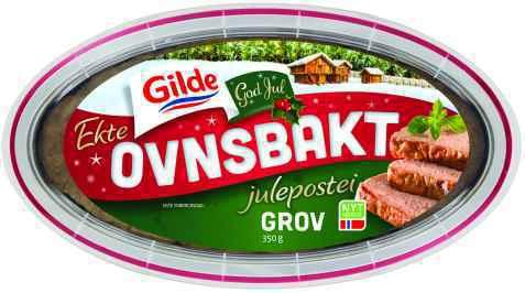Bilde av Gilde Ekte Ovnsbakt Grov Julepostei.