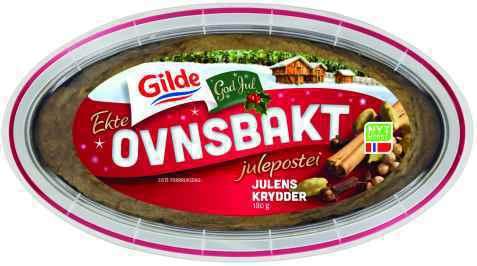 Bilde av Gilde Ekte Ovnsbakt Julepostei Julens krydder.
