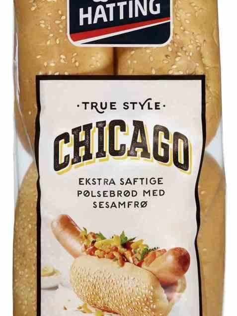 Bilde av Hatting True Style Chicago pølsebrød.