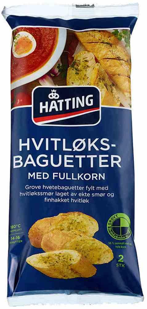 Bilde av Hatting Fullkorns hvitløksbaguette.