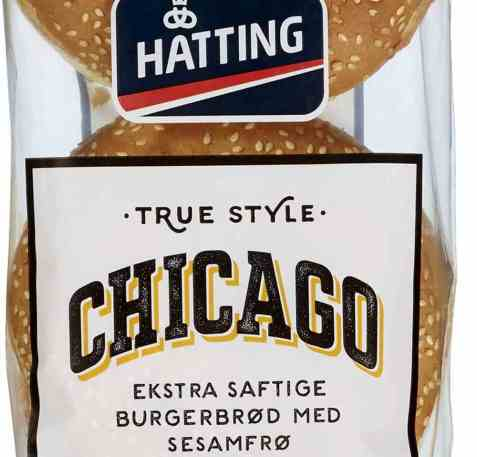 Bilde av Hatting Chicago hamburgerbrød.