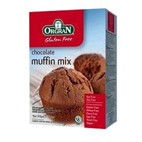 Bilde av Orgran chocolate muffins mix.