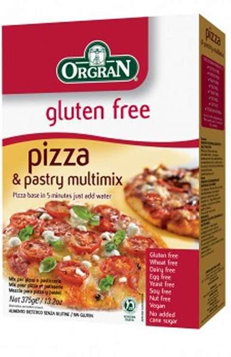 Bilde av Orgran glutenfri pizzabunn.