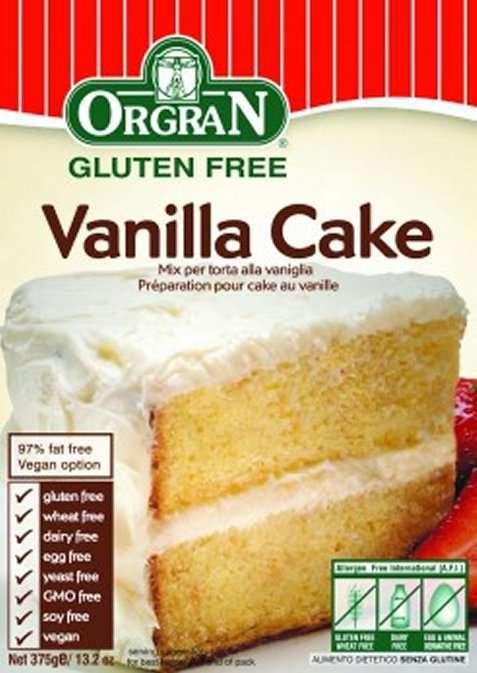 Bilde av Orgran vanilla cake mix.