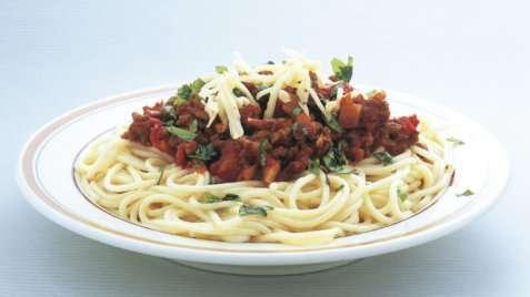 Bilde av Kjøttdeig, kylling og kalkun, stekt uten fett.