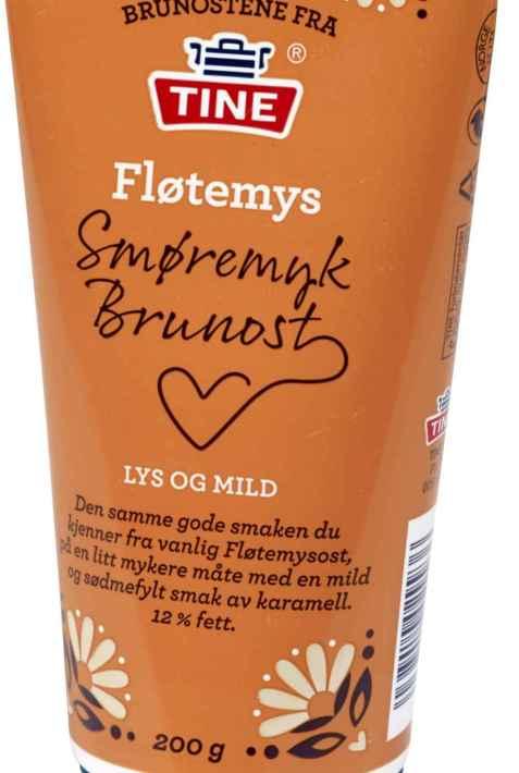 Bilde av Tine Smøremyk Fløtemysost Brunost.