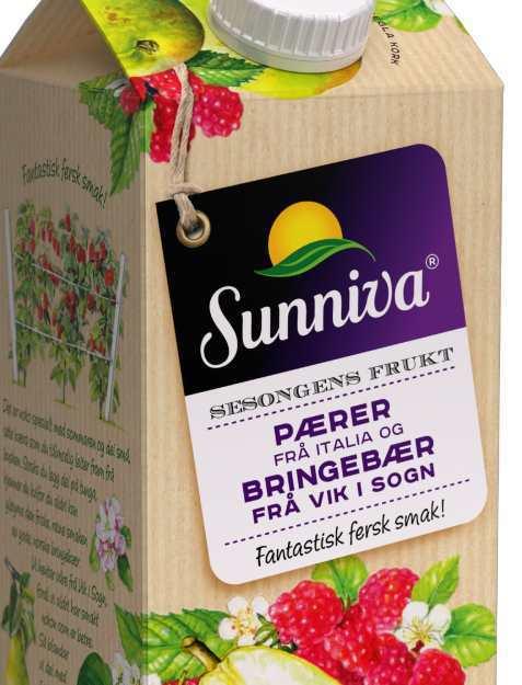 Bilde av Tine Sunniva Premium juice med Pære fra Italia.