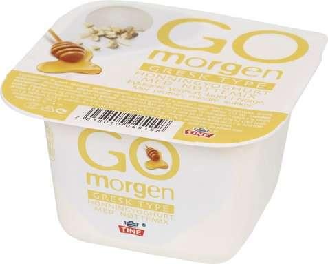 Bilde av Tine Go Morgen gresk type honning.