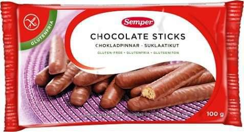 Bilde av Semper Chocolate Sticks.